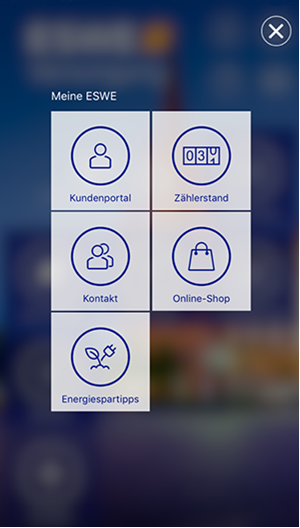 ESWE Service-App Screenshot